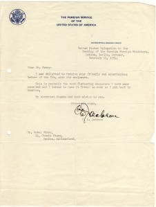 C.D. Jackson letter to Pavel Fabry