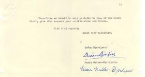 Slovak opera singer's letter 2