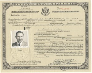 Vlado Certificate of Naturalization