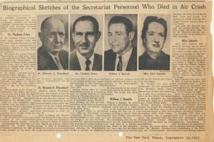 NYT Obituaries 1961