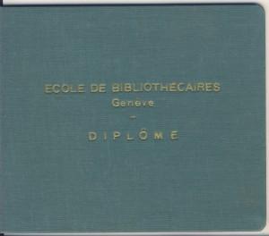 Olga Fabry Diploma 1