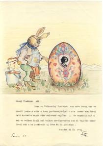 Pavel Easter egg letter