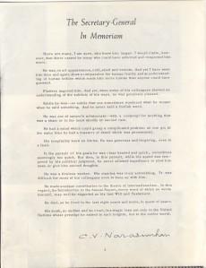 Secretariat News September 1961 p5