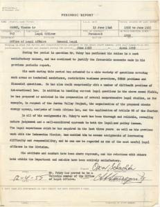 Vlado UN Periodic Report 1955