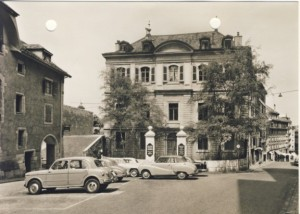 Evangelical Lutheran Church Geneva postcard