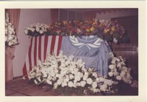 Vlado's casket Geneva Lutheran Church