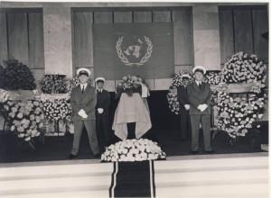 Vlado's funeral Geneva Lutheran Church