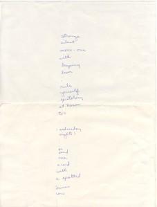 Christmas poem to Vlado