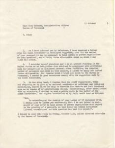 Czech Ambassador dispute 1955 II