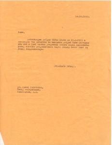 Czech Ambassador dispute 1955 III