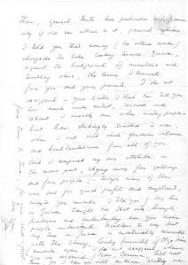 Sumitro letter Olinka II