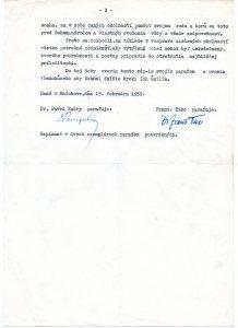 Frano Tiso-P.Fabry doc. 2-19-59 2